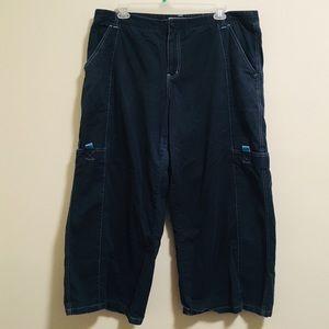 90s MACGIRL Wideleg Cargo Raver Jeans